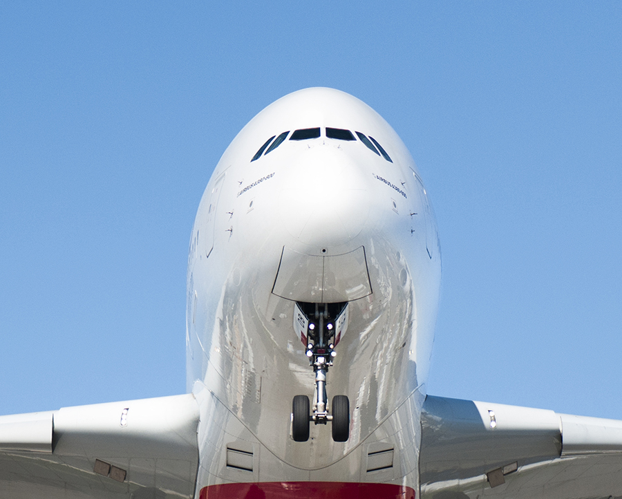 The Laird Co Airbus A380 Nose Detail Whale aviation avgeek airplane airline photography for site.jpg
