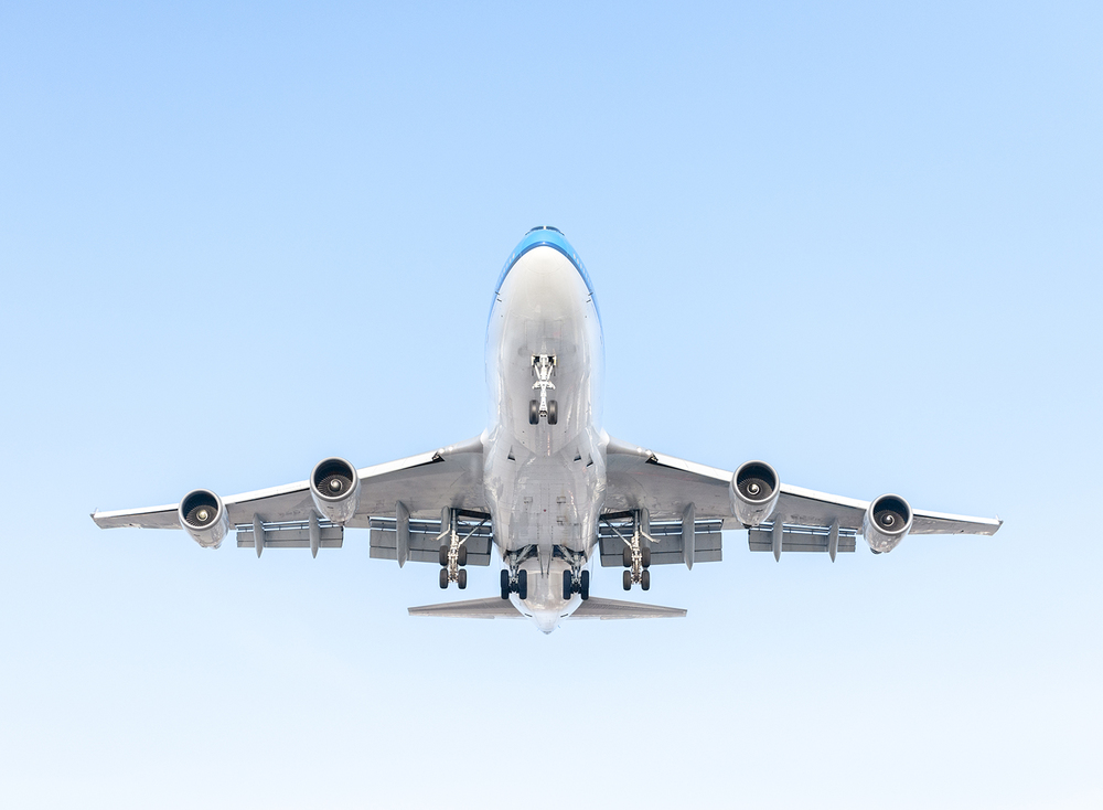 The Laird Co KLM Blue Sky White Cheat Line Livery Aviation Avgeek Landing Airplane Boeing 747 Photography for site.jpg