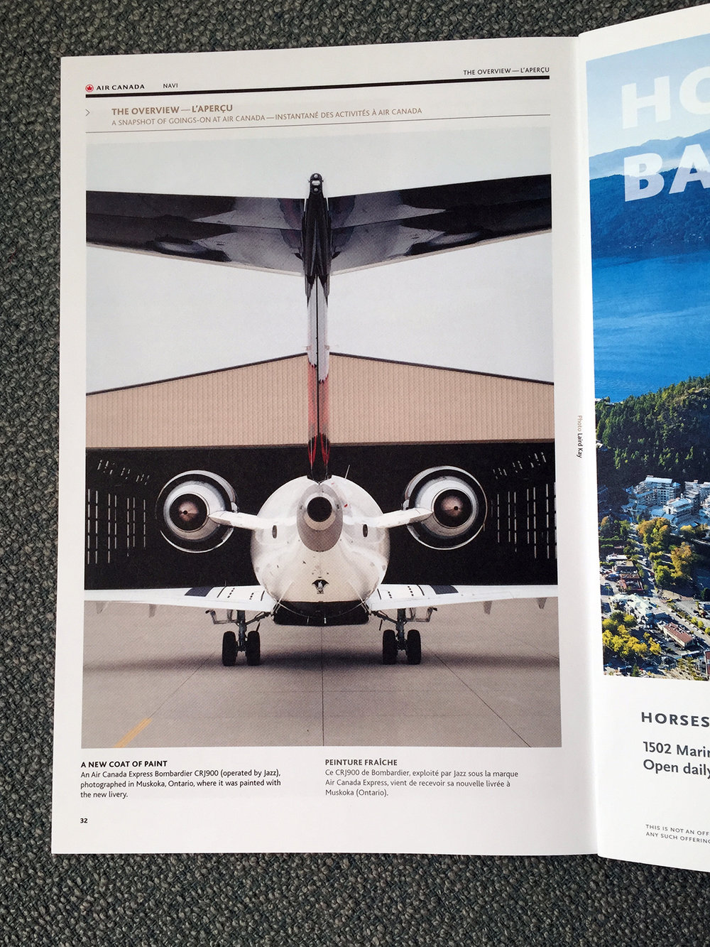 Laird Kay Navi Magazine Air Canada New Livery August 2017.jpg
