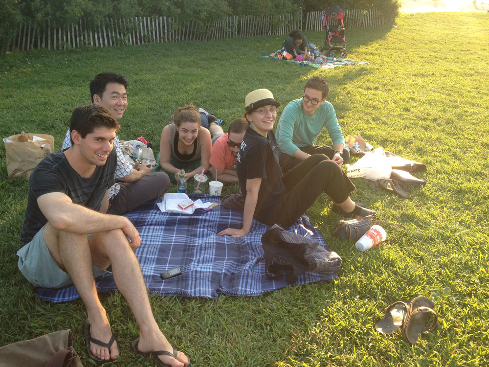 Summer Lab Outing 2014 - the picnic