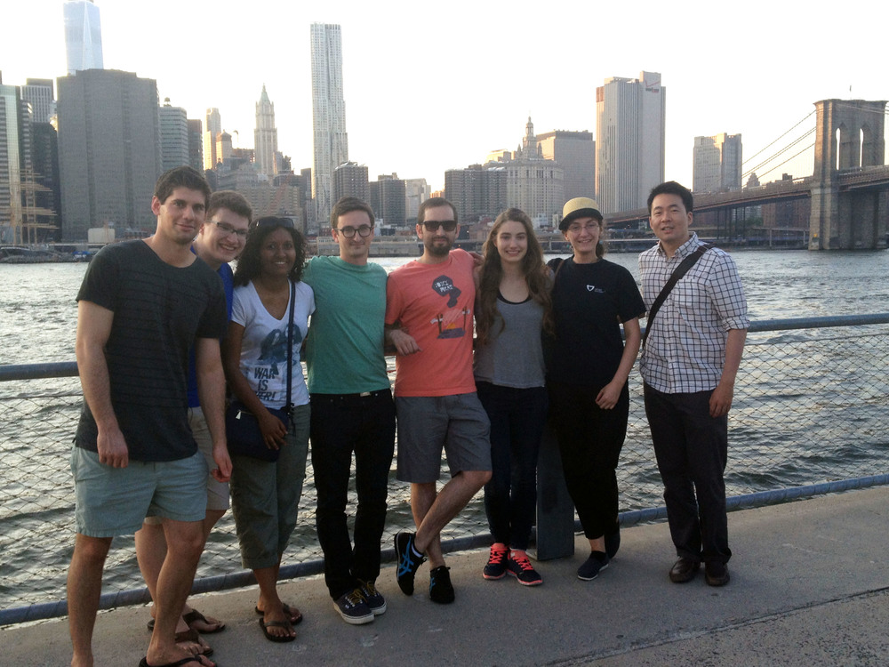 Summer Lab Outing 2014 - Group Photo