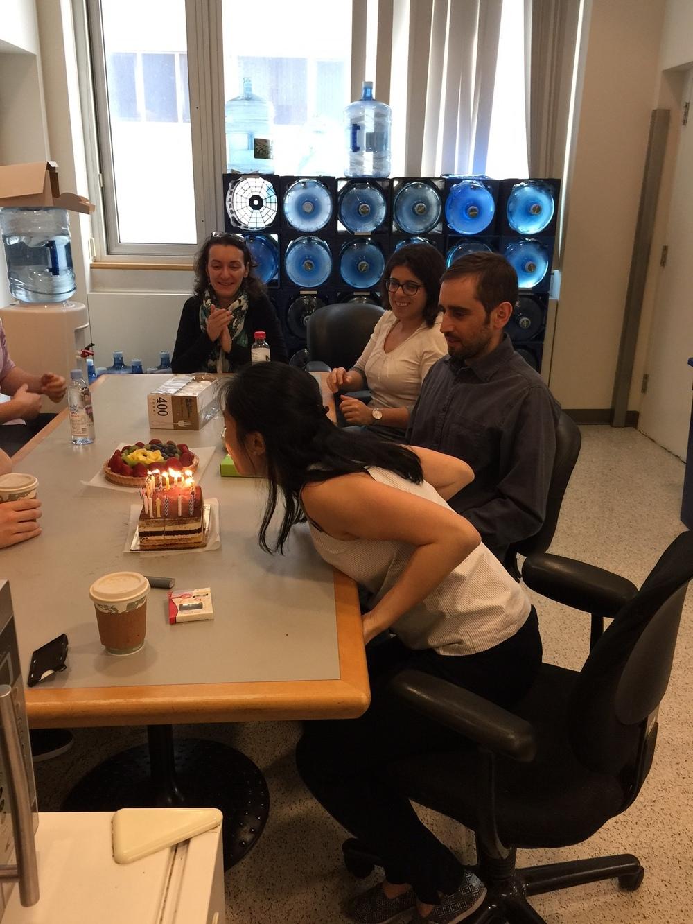 Sarah's Birthday 2016