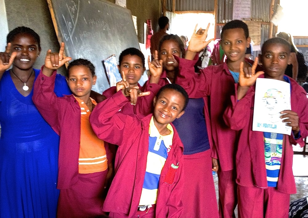 Two new public schools in Bahir Dar opened classrooms for Deaf children this past year - Visions is doing daily outreach for the children at these two schools and the one existing school.jpg