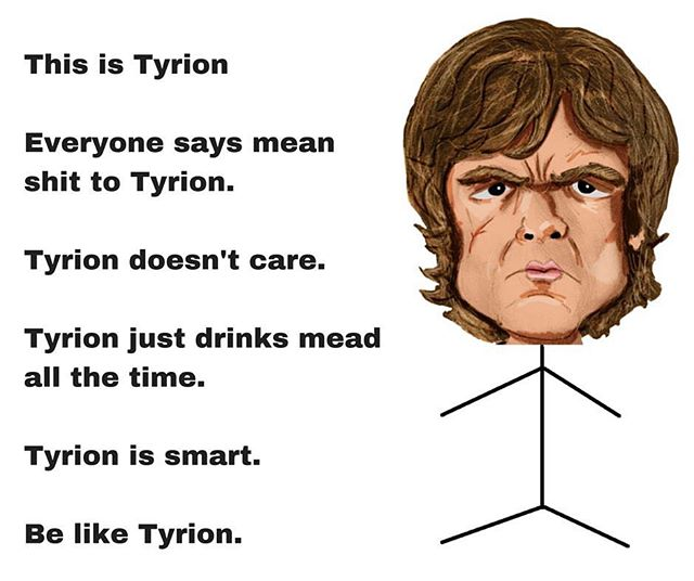 Be like #tyrion #gameofthrones #mead #honeywine