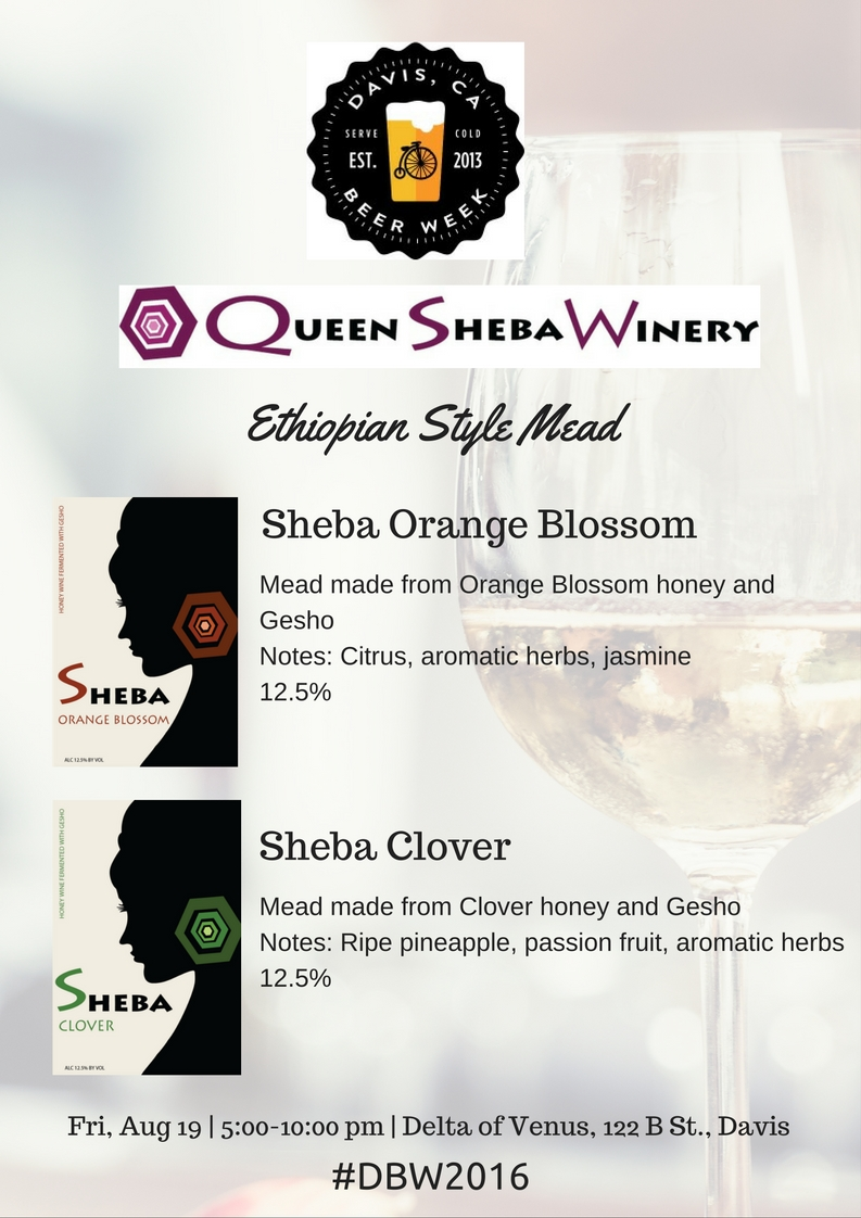 Queen Sheba Davis Beer Week