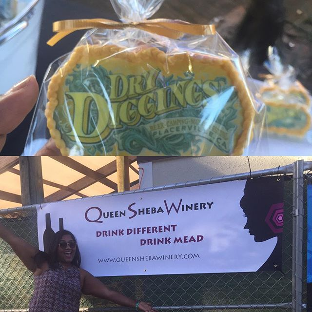 Loving it at #drydiggings2016 please enjoy some #honeywine #mead #tej #ethiopia #reggae