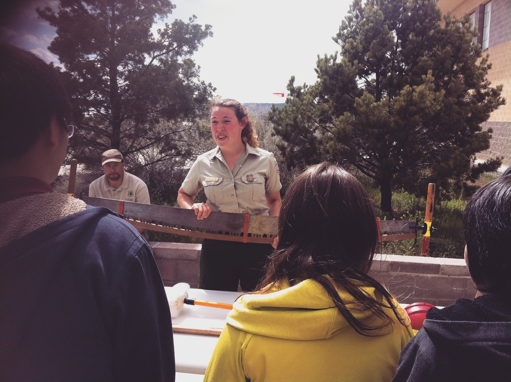 Mia Snelson and James Casaus talk about their careers in the US Forest Service