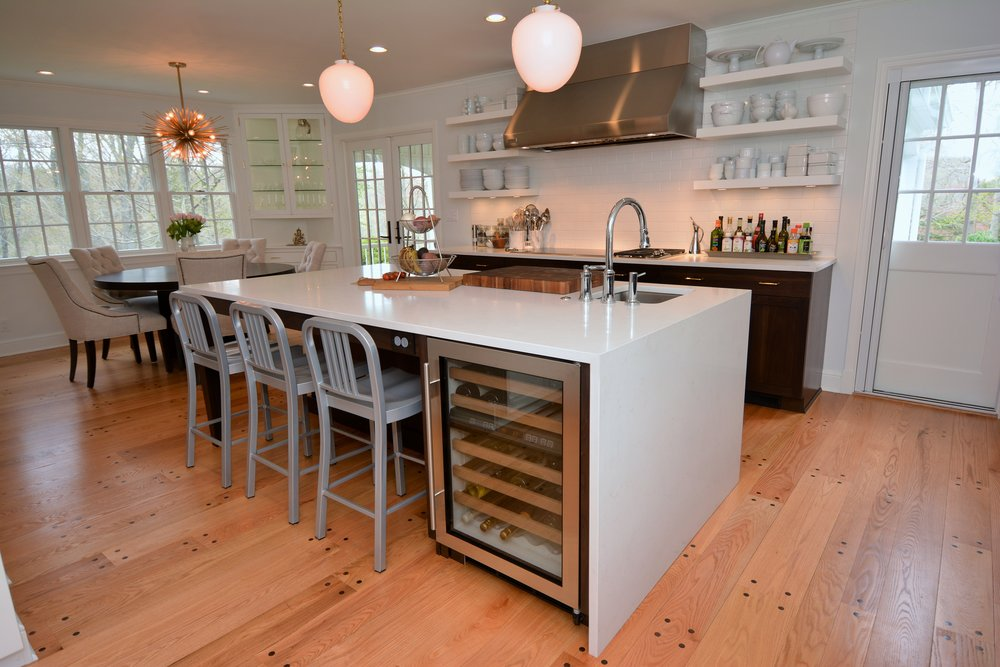Copy of Transitional White Kitchen