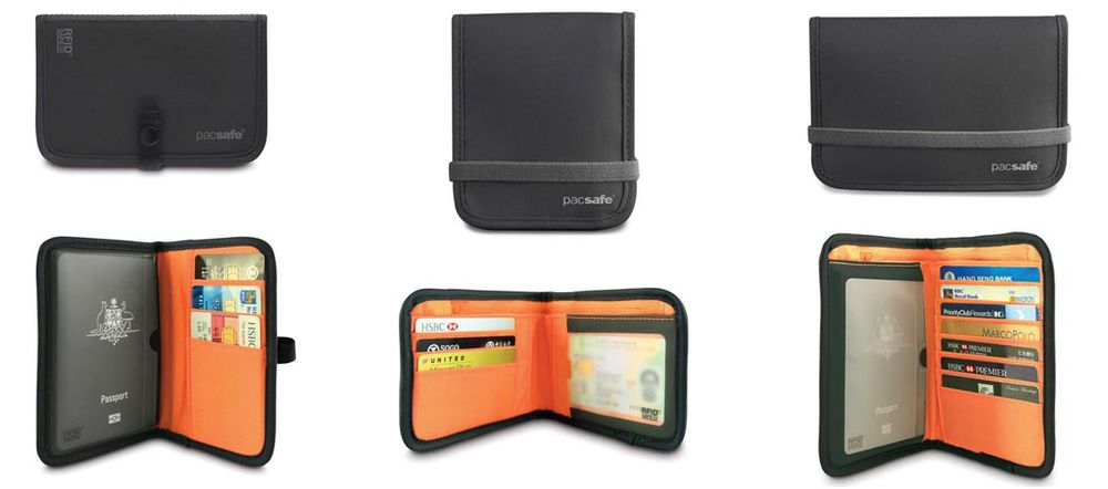 Pacsafe RFID Blocking Wallets