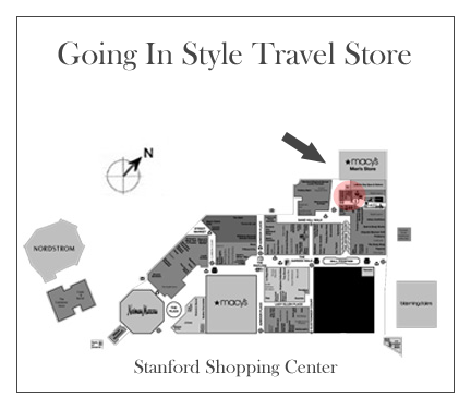 Going In Style Stanford Shopping Map    >>