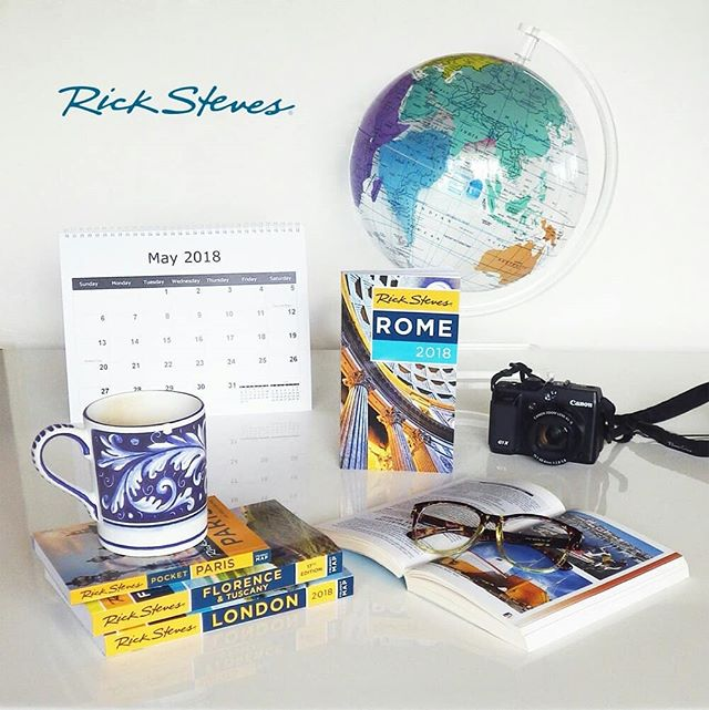 Do you enjoy reading travel books about your destination? We have New 2018 Rick Steves Books in store now📖📖📖 @ricksteveseurope . . . . . #ricksteves #rickstevestours #rickstevesbooks #welovebooks #travelbooks #travelbug #traveler #globe #aroundtheglobe #coffeemug #readinglasses #calender #camera #canoncamera #Canon #travelaccessories #lovegoinginstyle #books #bookworm #booklover #May2018 #lovegoinginstyle