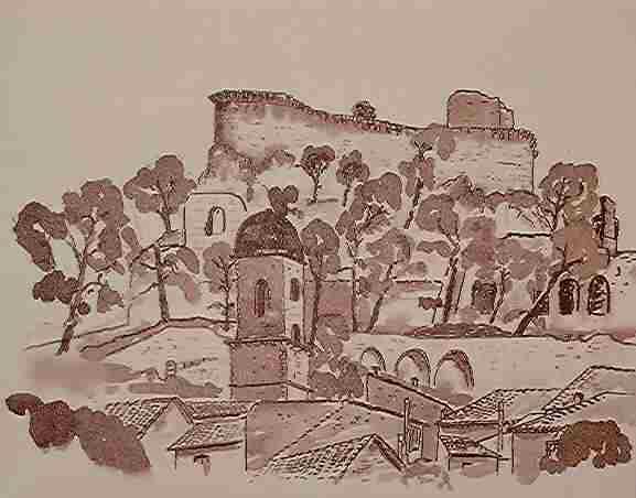 Boulbon,Provence,Kreativurlaub,Malferien, Lavieung , Zeichenkurse, Frankreich