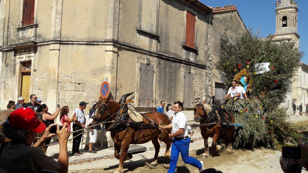 Aloisius-Fest in Boulbon28.08.
