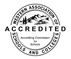 Century Acacdemy is proudly Accredited by the Western Association of Schools & Colleges