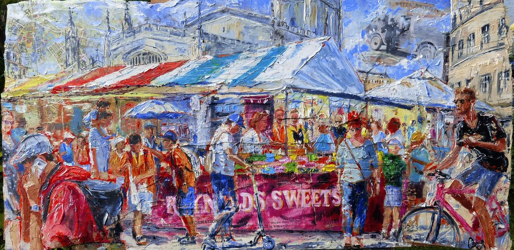 A sweet day, Cambridge Market