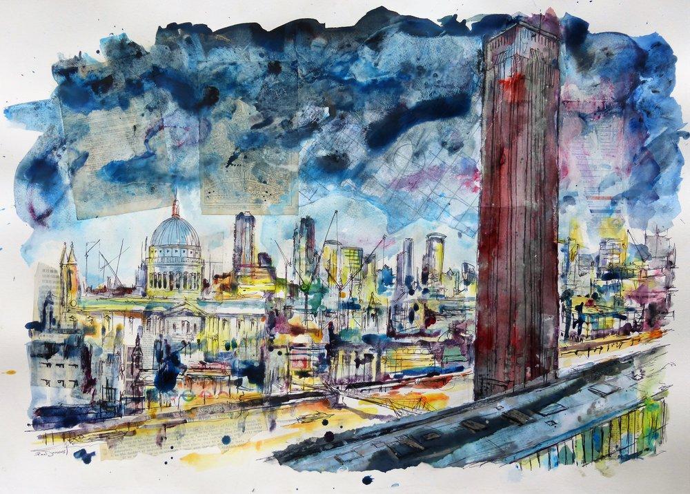 Tate Modern to St. Paul's