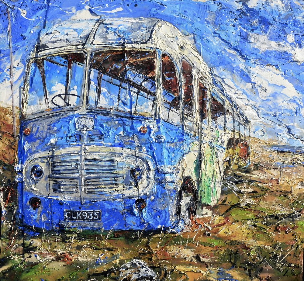 Hoy Bus, Orkney Islands