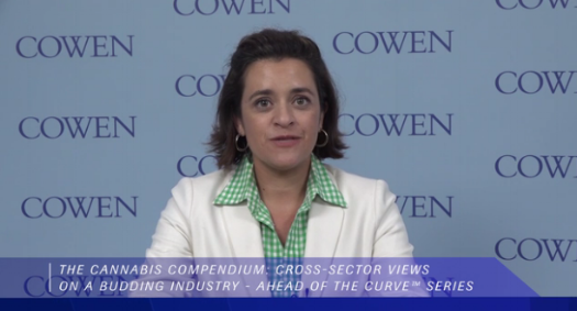 """We think total cannabis spending in the U.S. is already north of $30 billion,"" said Vivien Azer, Beverages, Tobacco and Cannabis Analyst for Cowen and Company, in a  video  accompanying the report."