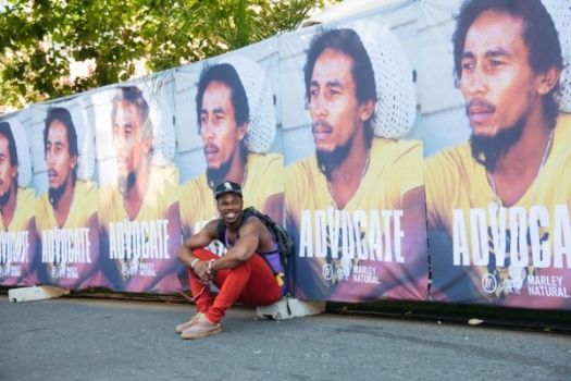 Marley Natural's ADVOCATE campaign celebrated Bob Marley's commitment to social justice.
