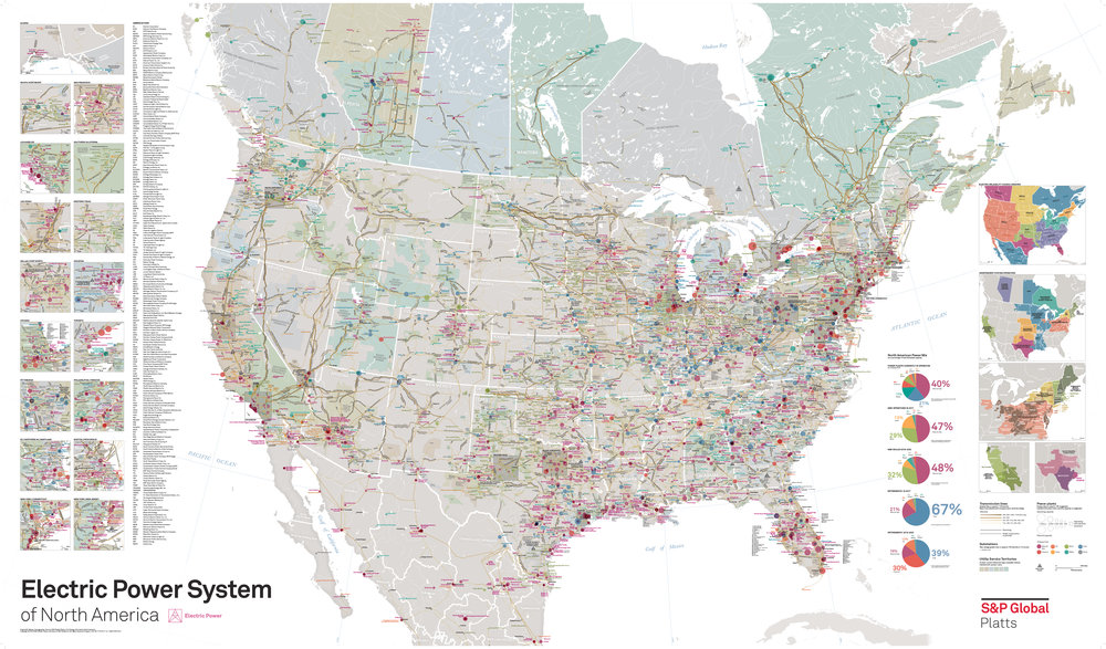 Electric Power System of North America