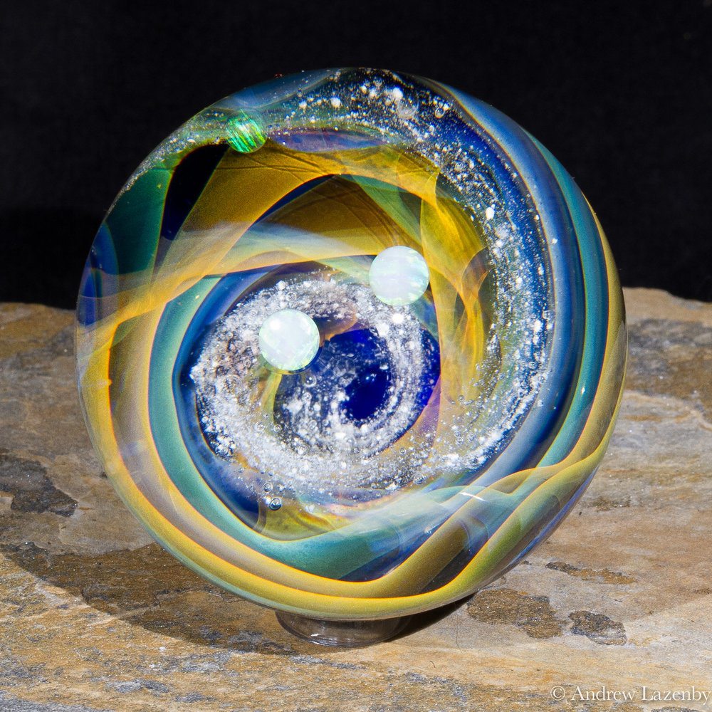 Vortex with Opals  Memorial Marble (1 of 4).jpg