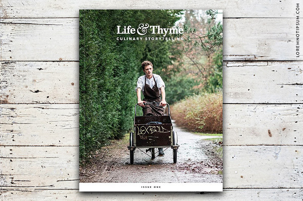 Life & Thyme annual subscription, $60
