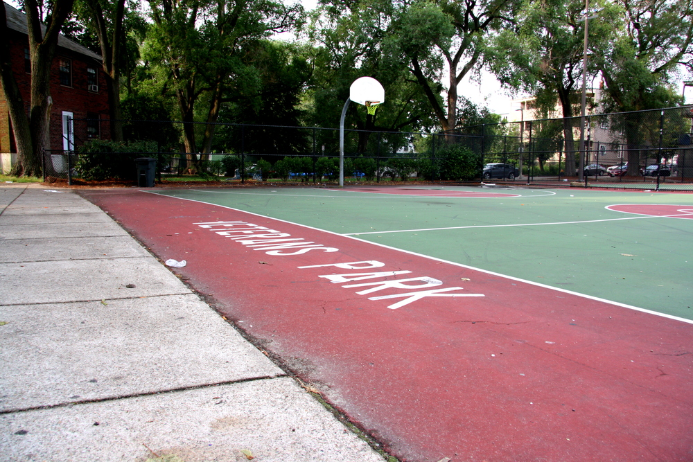 Joe Maury Flaherty Basketball Court at Veterans Park