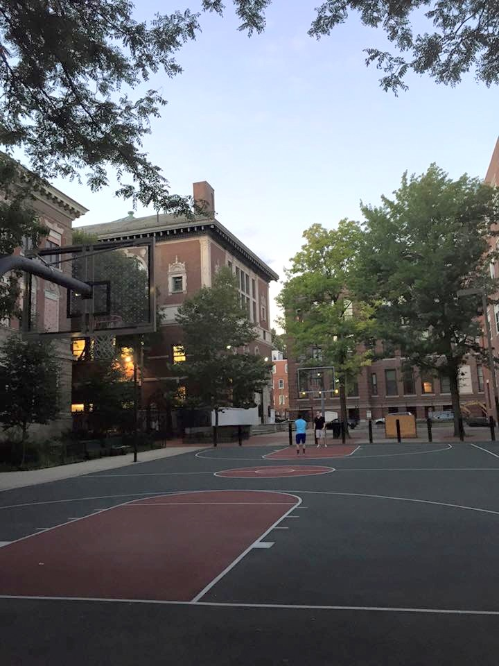 Ryan Light is always playing hoops around Boston. This time, it was in the North End, and this time, he shared it with us.