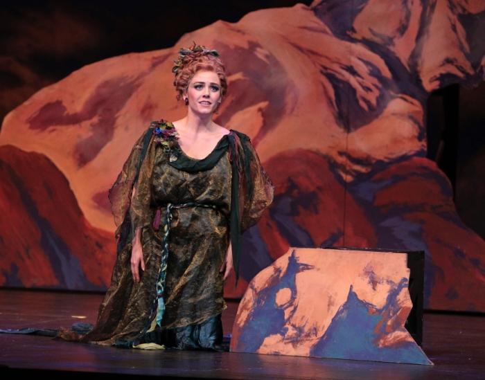 Singing Echo in  Ariadne auf Naxos with the Fort Worth Opera Festival