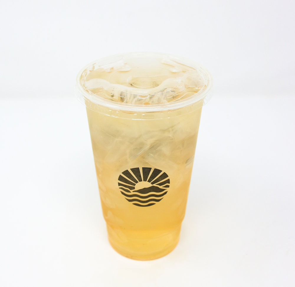 VANILLA ROSE SWEET TEA - AVAILABLE EVERYDAY 24/7 DURING FEBRUARY