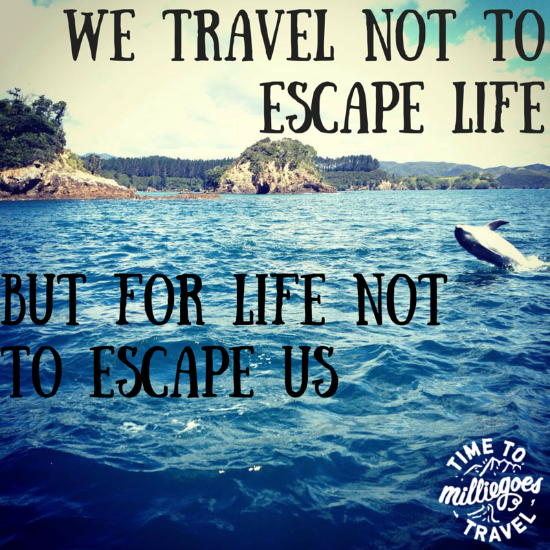 Travel Escape Quotes: MillieGoes Travel