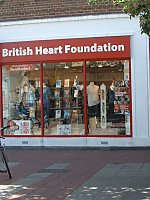 British Heart Foundation Palmerston Road Southsea