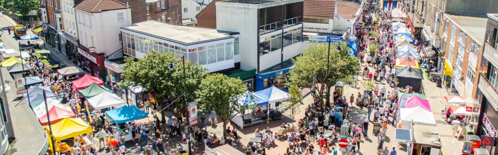 Southsea Food Festival 2015