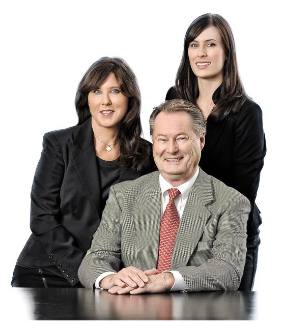 Iris, Dr. Gerd und Verena Eckstein