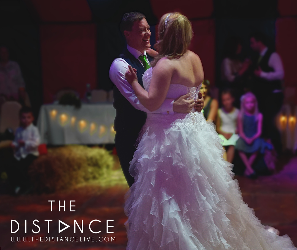Poachers hideaway wedding band - The Distance