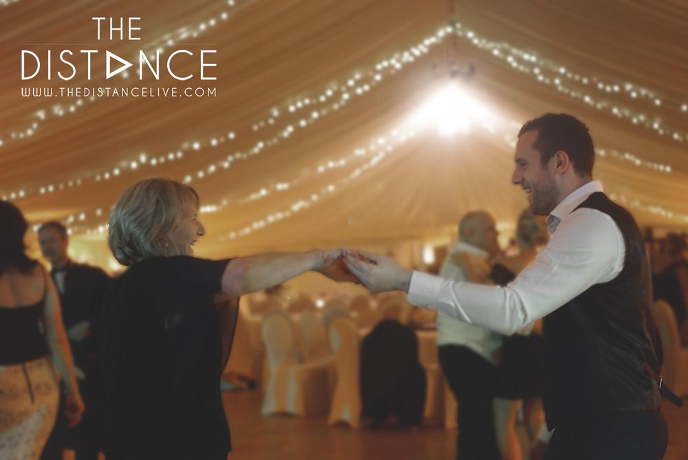 The Distance wedding band | Raemoir House hotel weddings