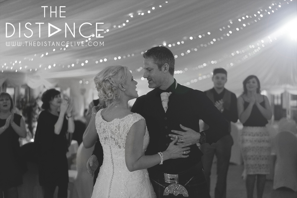 The Distance wedding band | Raemoir house hotel weddings