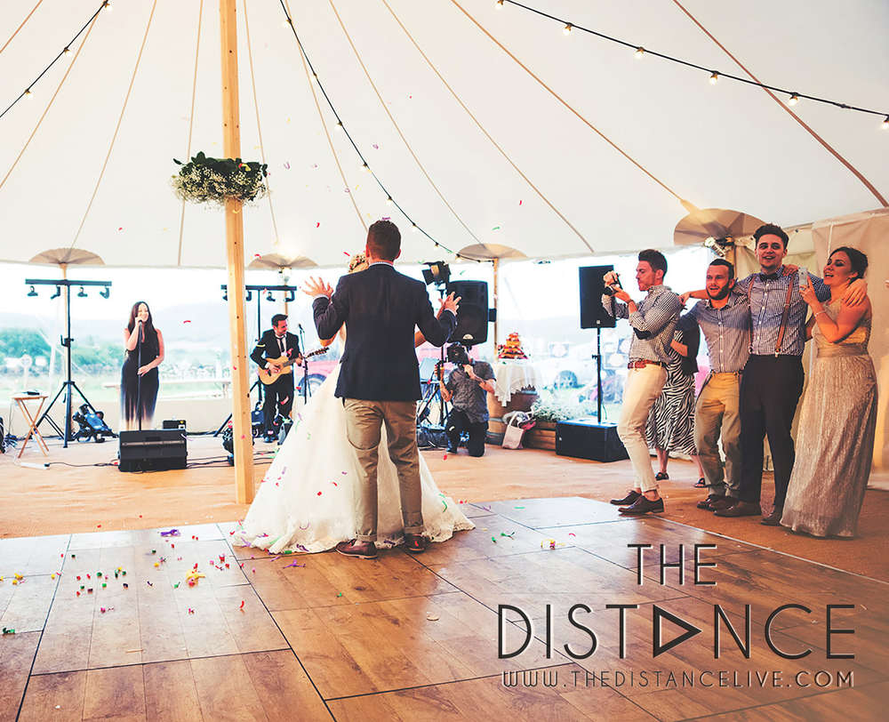 Manchester Wedding Band // The Distance