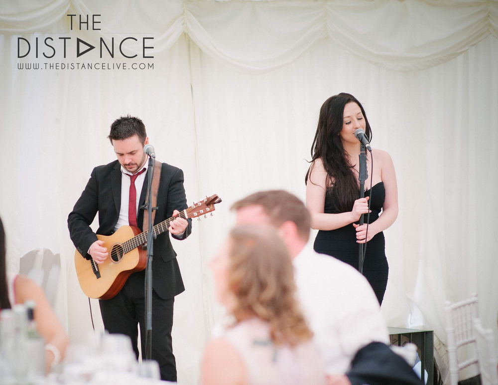 Live Wedding Breakfast Music // The Distance