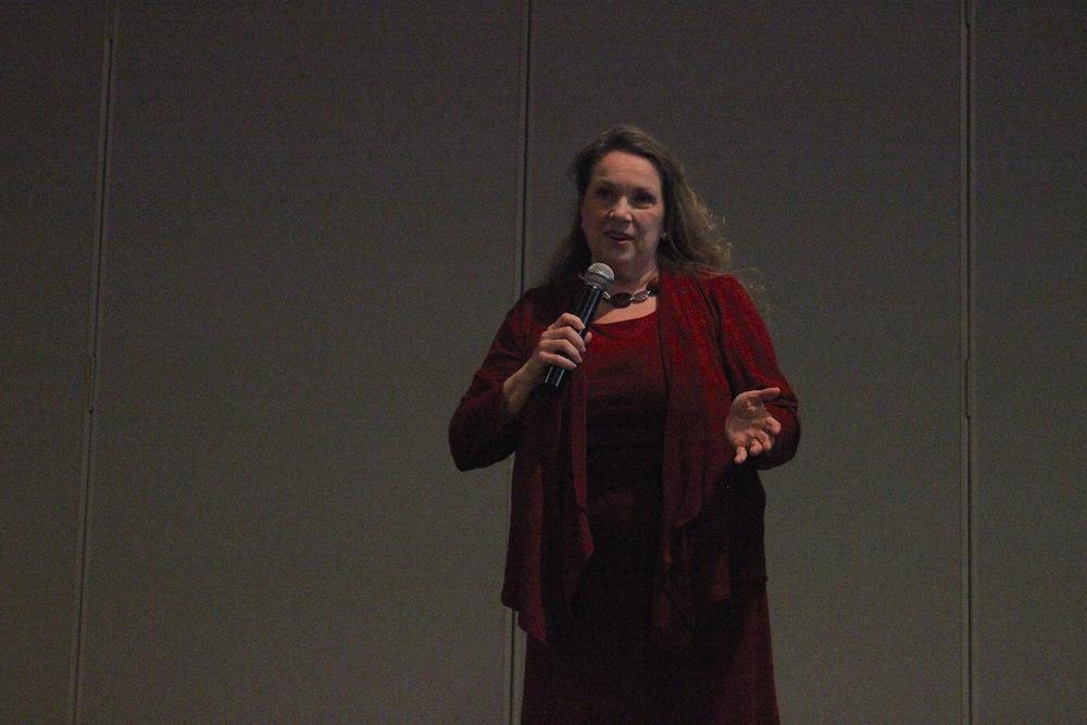 Olivia Gans-Turner - keynote speaker.