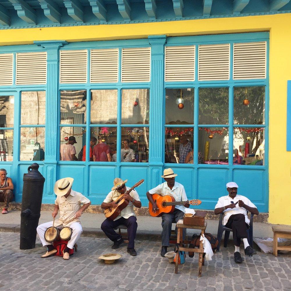 Musicians in Habana Vieja