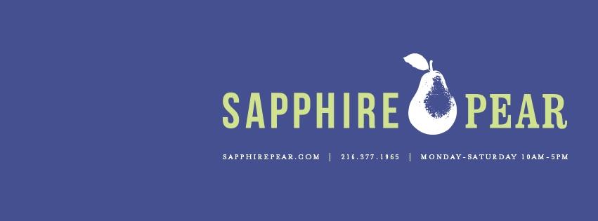 Sapphire Pear