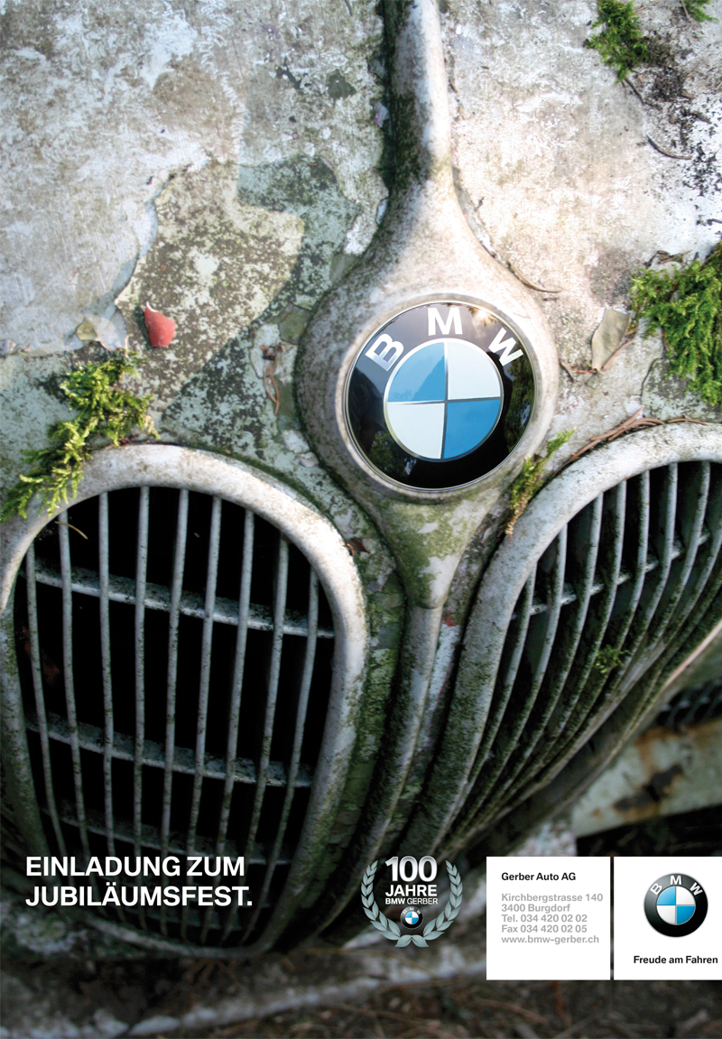 BMW GerberEvent Einladung