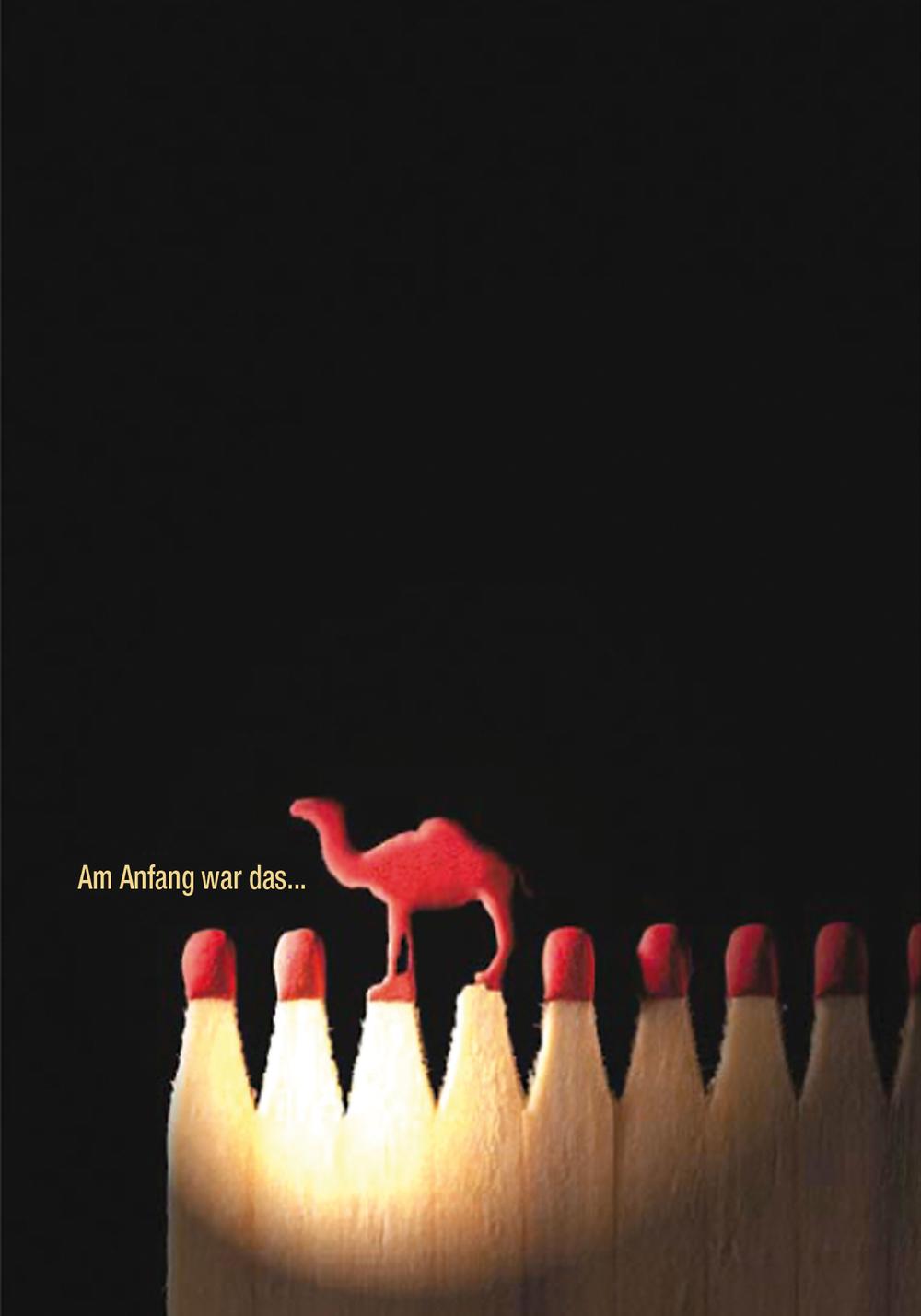 Camel Creative Challenge 2001  Rang 2 von 3000 Einsendungen