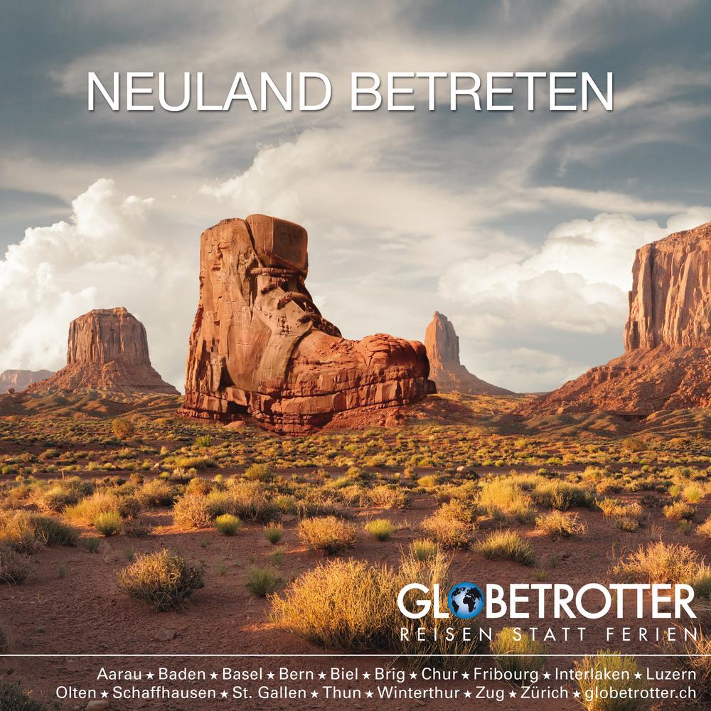Globetrotter Kommunikation (Creative Direction für Ideentität Bern)
