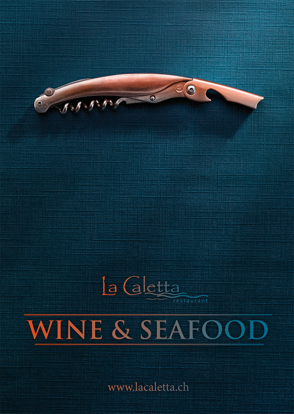 La Caletta Fischrestaurant. Keyvisual, Corporate und Kommunikation