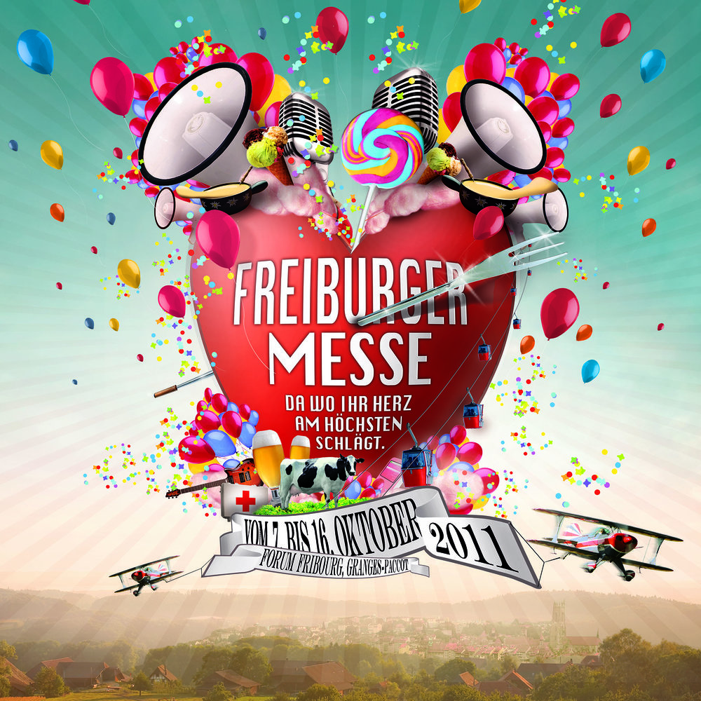 Freiburger Messe (Art- und Creative Direction)