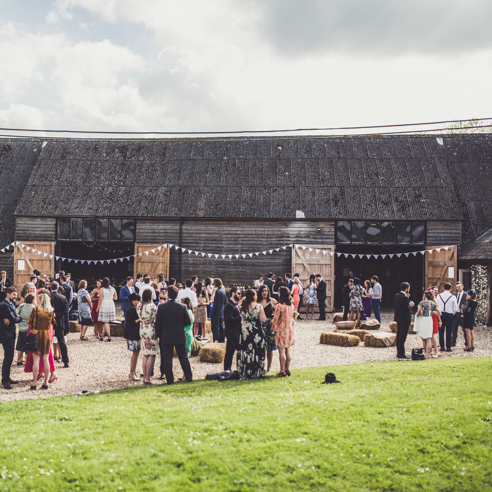 Rustic countryside wedding created by 'Made by Wood & Wood' in Berkshire