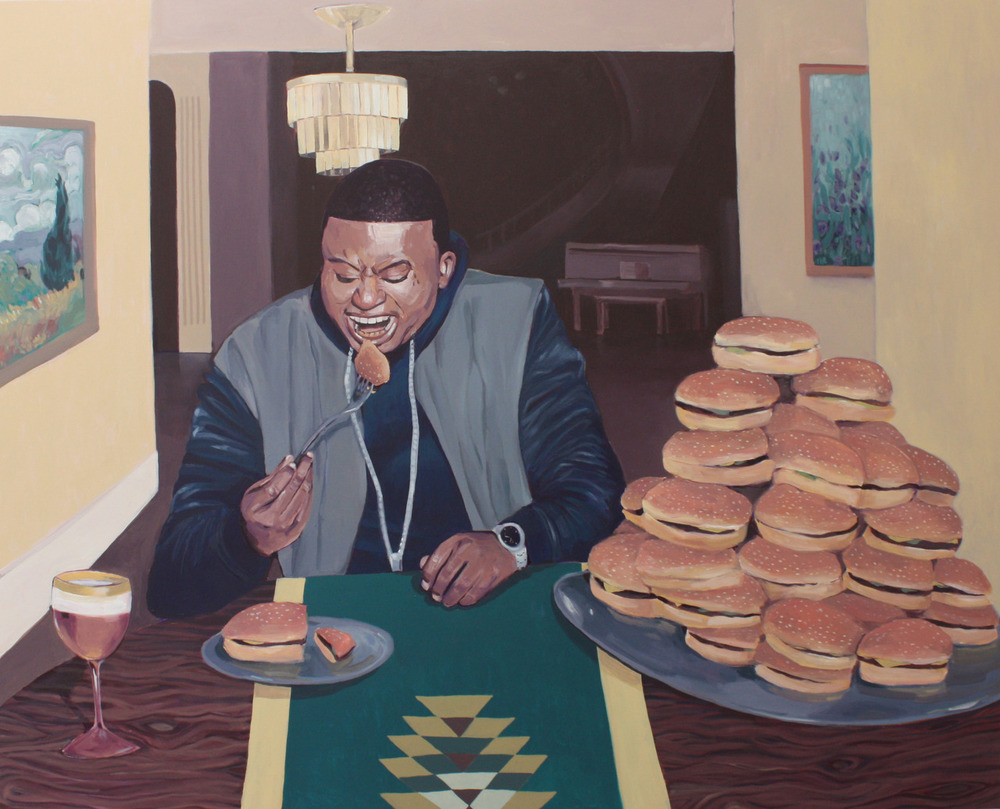 Portrait with Burgers (Life)