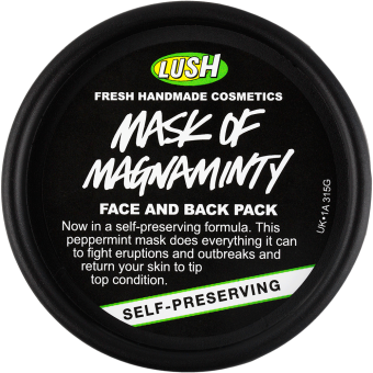 Lush Face Mask in Mask of Magnaminty - $16.95